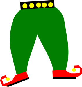 Elf shoes png. Outfit clipart panda free