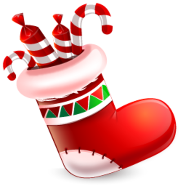 Stocking vector xmas. Christmas mittens clip art