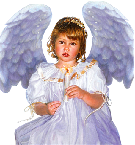 Mixed race angels png. Touching hearts children tube