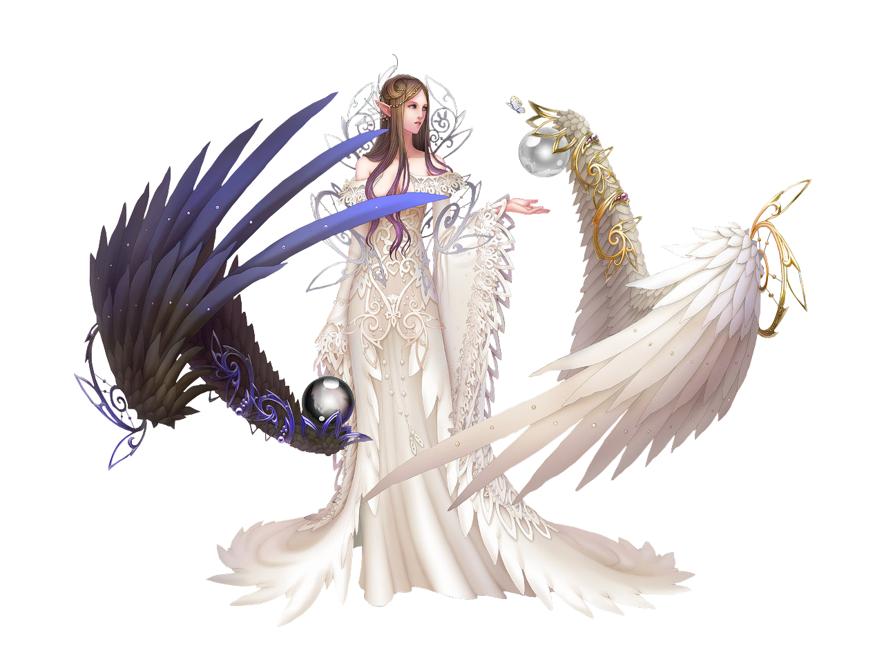 Mixed race angels png. Download fantasy angel clipart