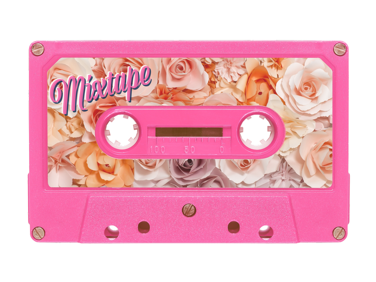 Mixtape drawing music tape. Images about cassette