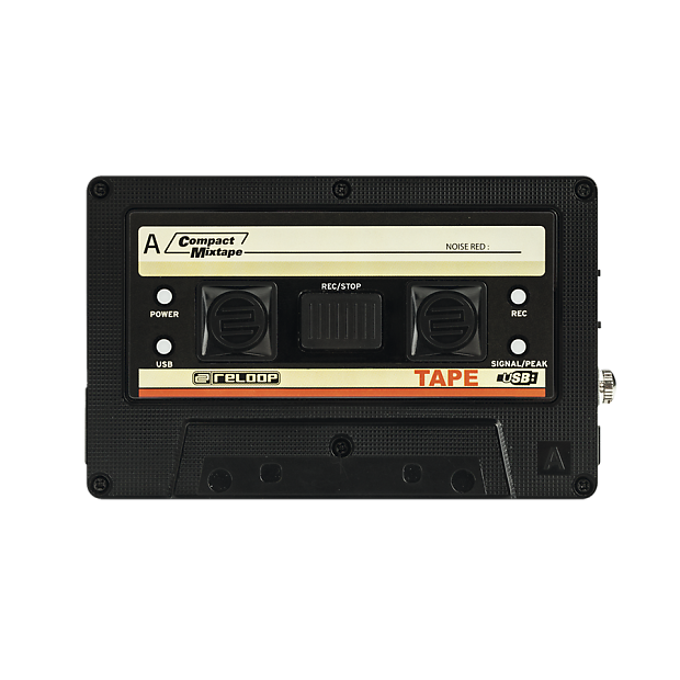 Mixtape drawing cassete. Reloop tape usb recorder