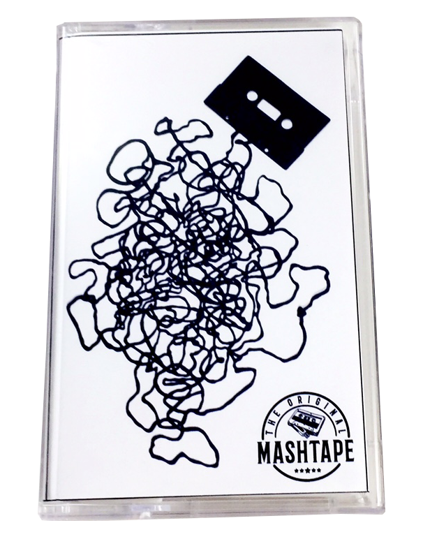 Mixtape drawing cassete. The original mashtape retro