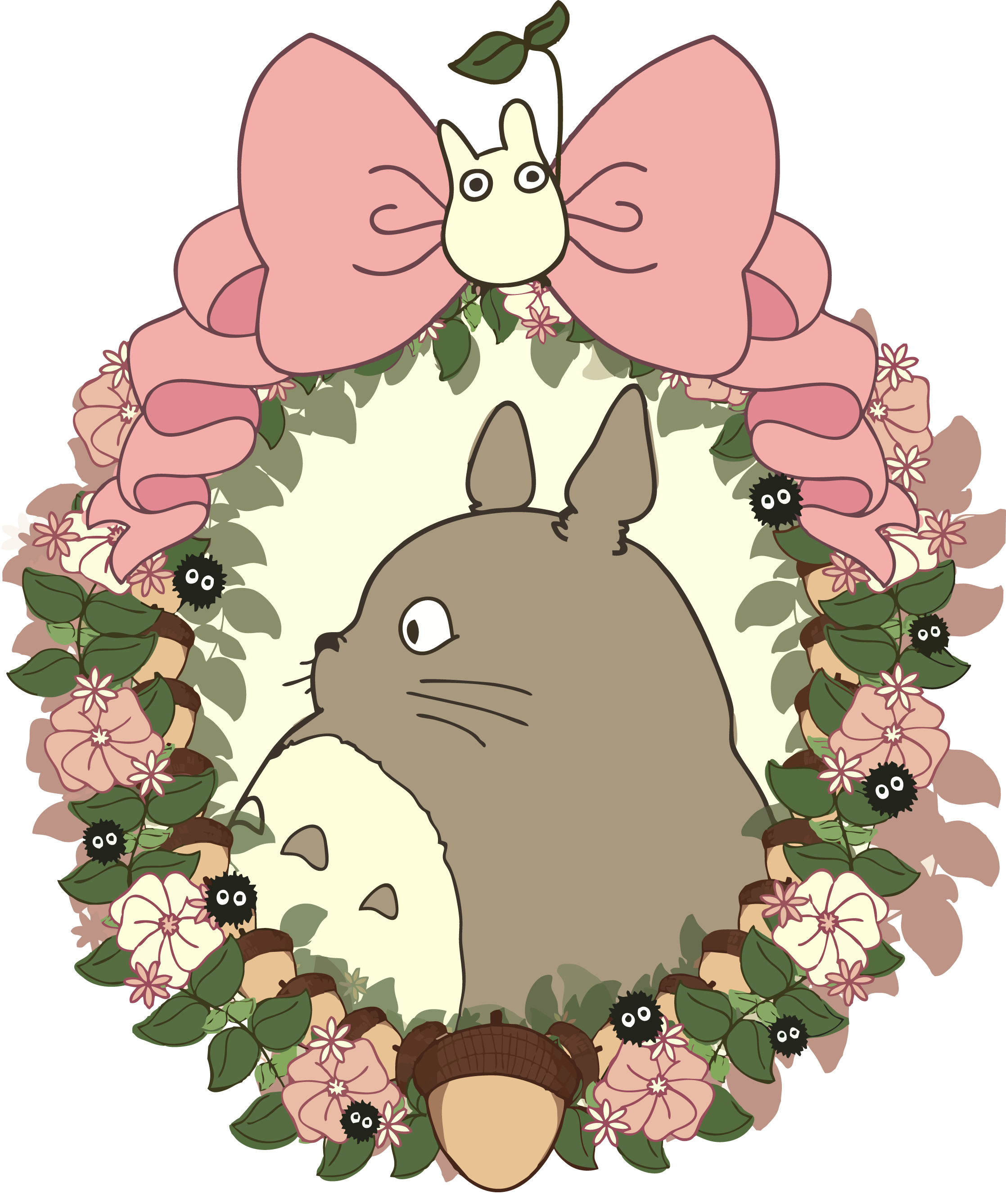 Miyazaki drawing forest. Pin by kaitlyn holloway