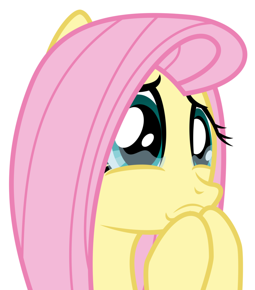 Mj crying face png. Fluttershy s about to