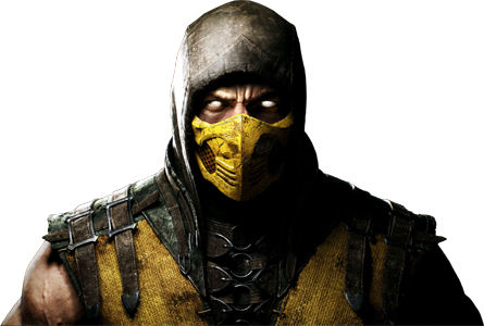 Mkx scorpion png. Mortal kombat x official