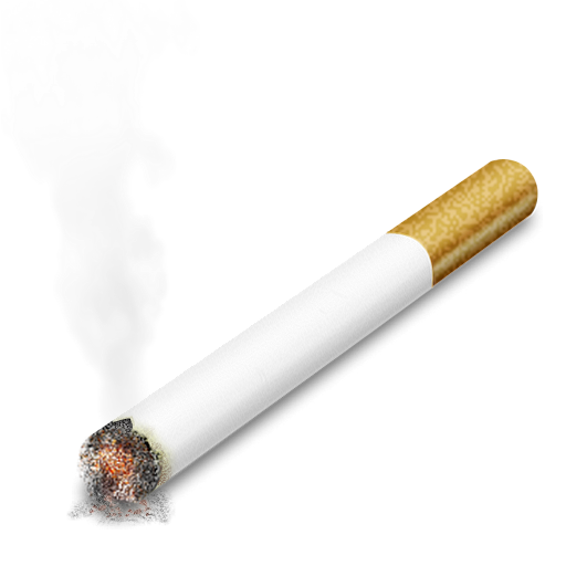 burning cigarette png