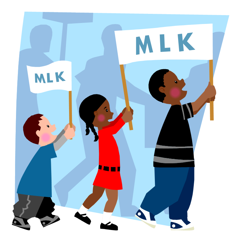 Mlk clipart cartoon. Free martin luther king