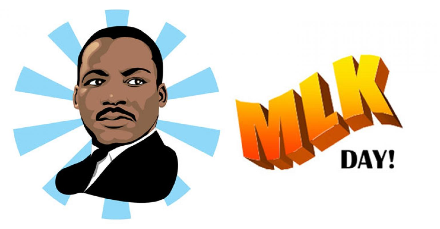 Mlk clipart middle school. Dr martin luther king