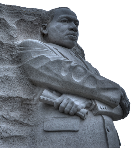 mlk statue png
