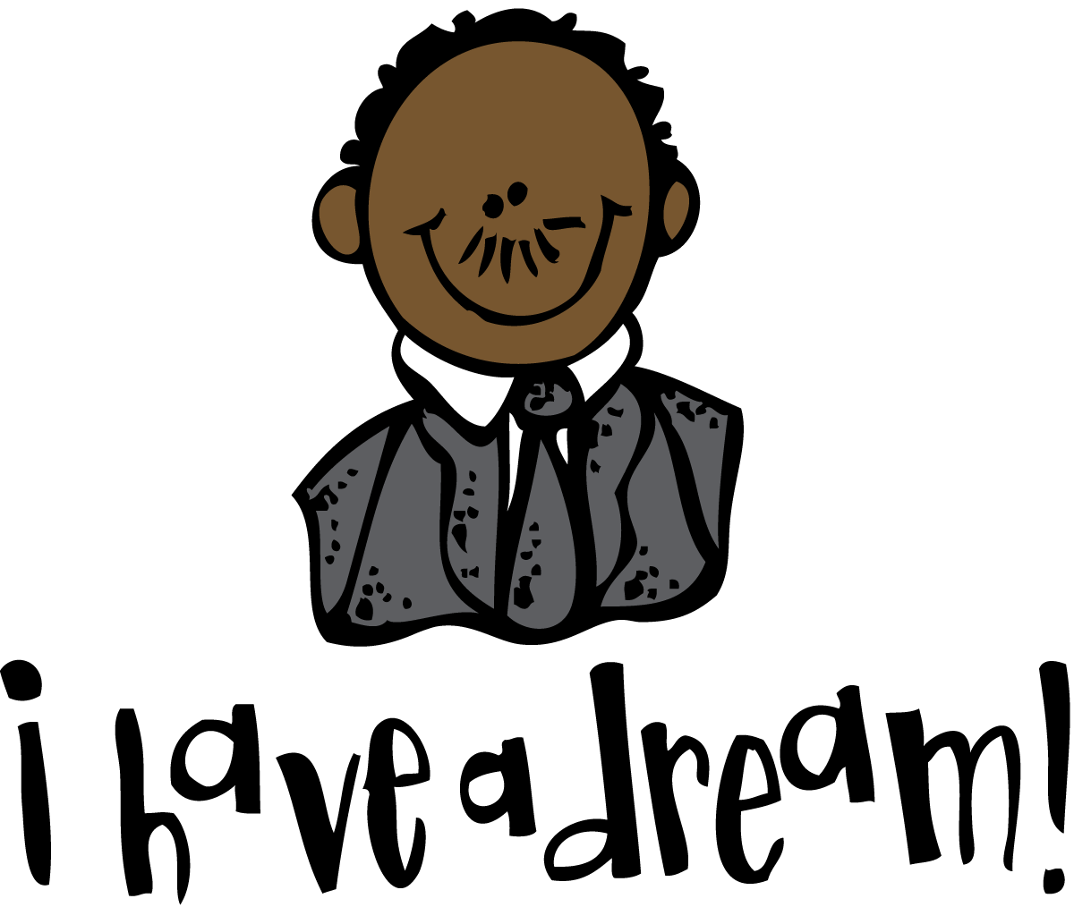 Mlk vector clip art. Collection of clipart