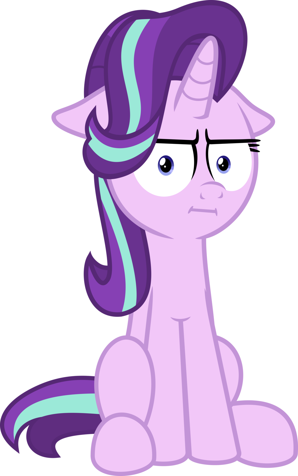 Mlp air horn png. Vector starlight glimmer by