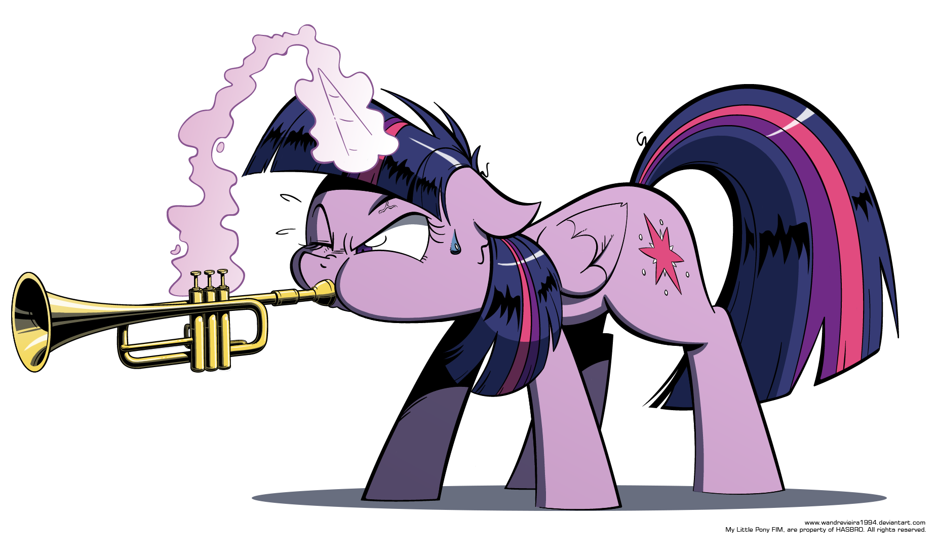 Mlp air horn png. Image completo by wandrevieira