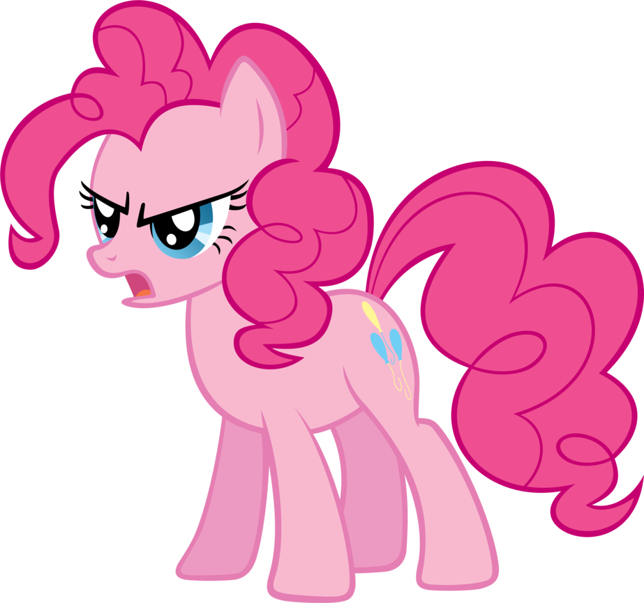 Mlp pinkie pie png. Image fanmade angry my
