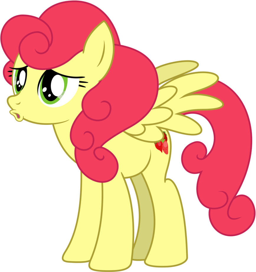 Mlp sunrise png. Strawberry as seen in