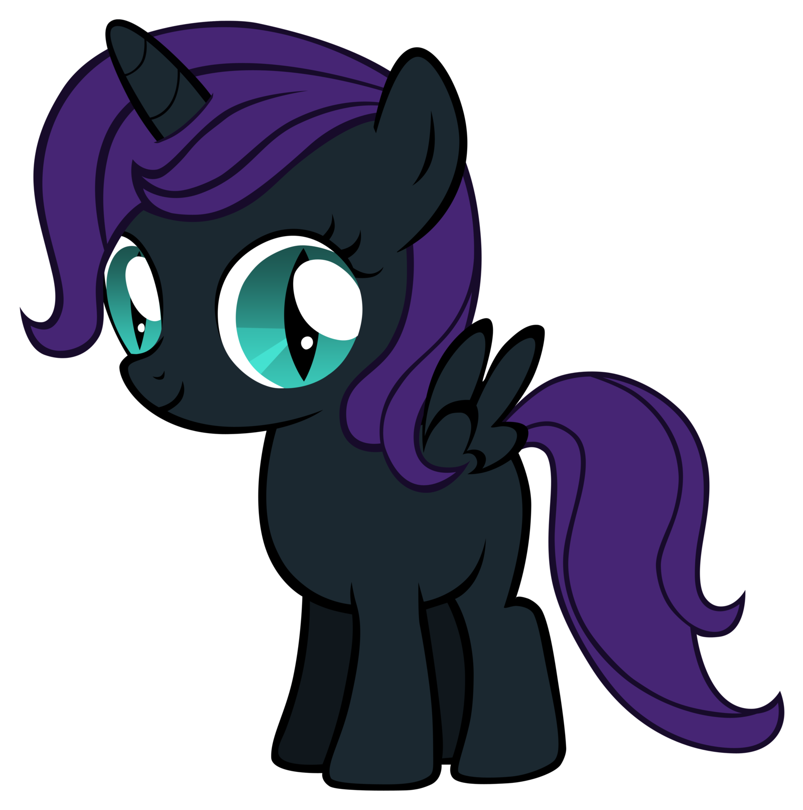 Mlp wiki confused png. Nyx my little pony