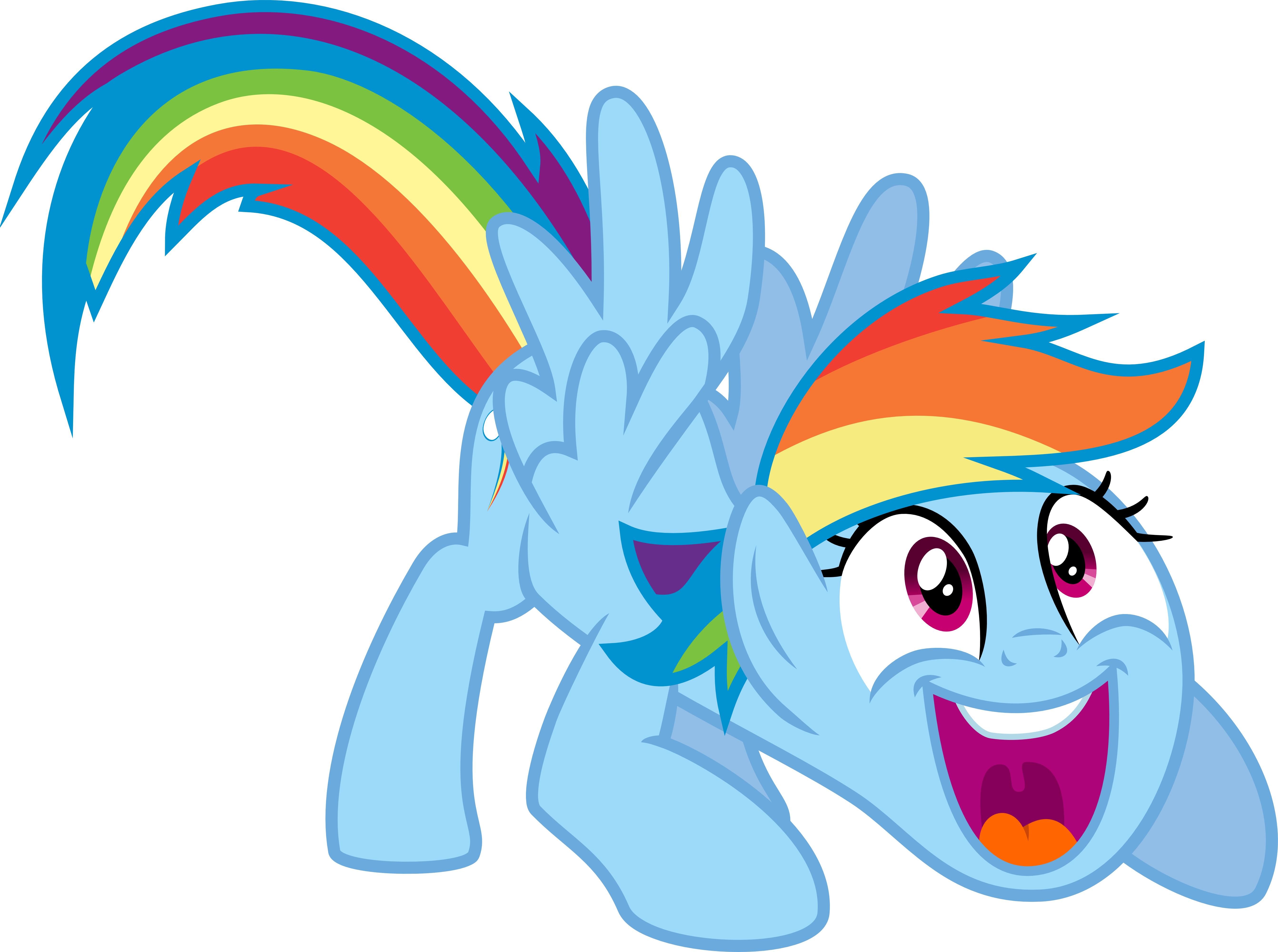 Mlp wow png. Rainbow dash by jeatz