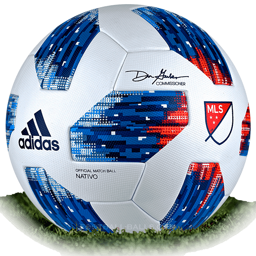 Mls soccer ball png. Adidas nativo is official