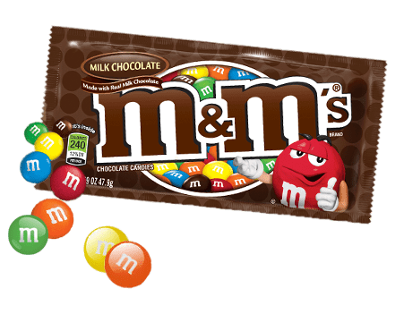 M&m candy png. M s chocolate bag