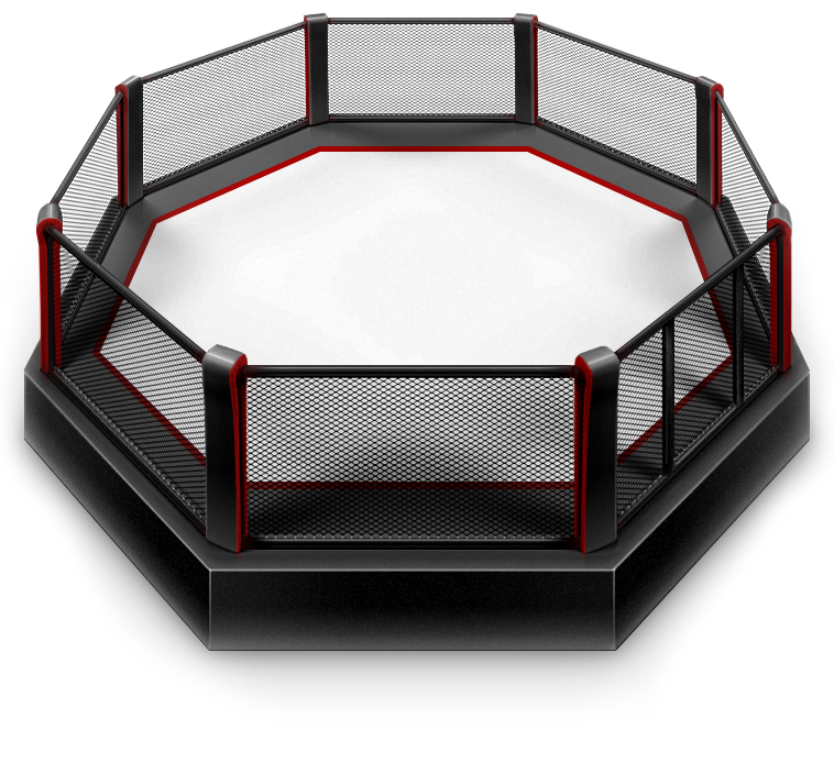 Mma octagon png. Octagons and boxing rings