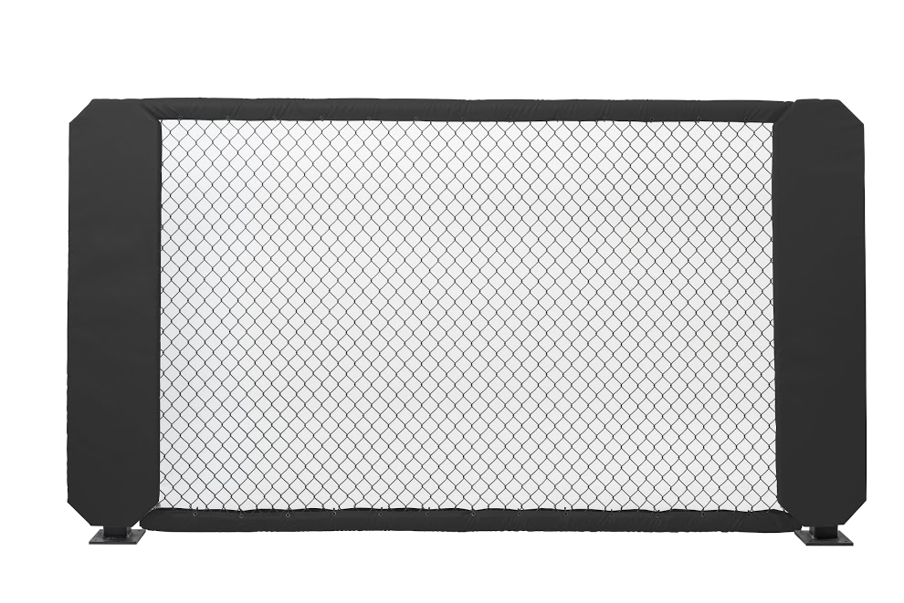 Mma octagon png. Cage panel walls zebra