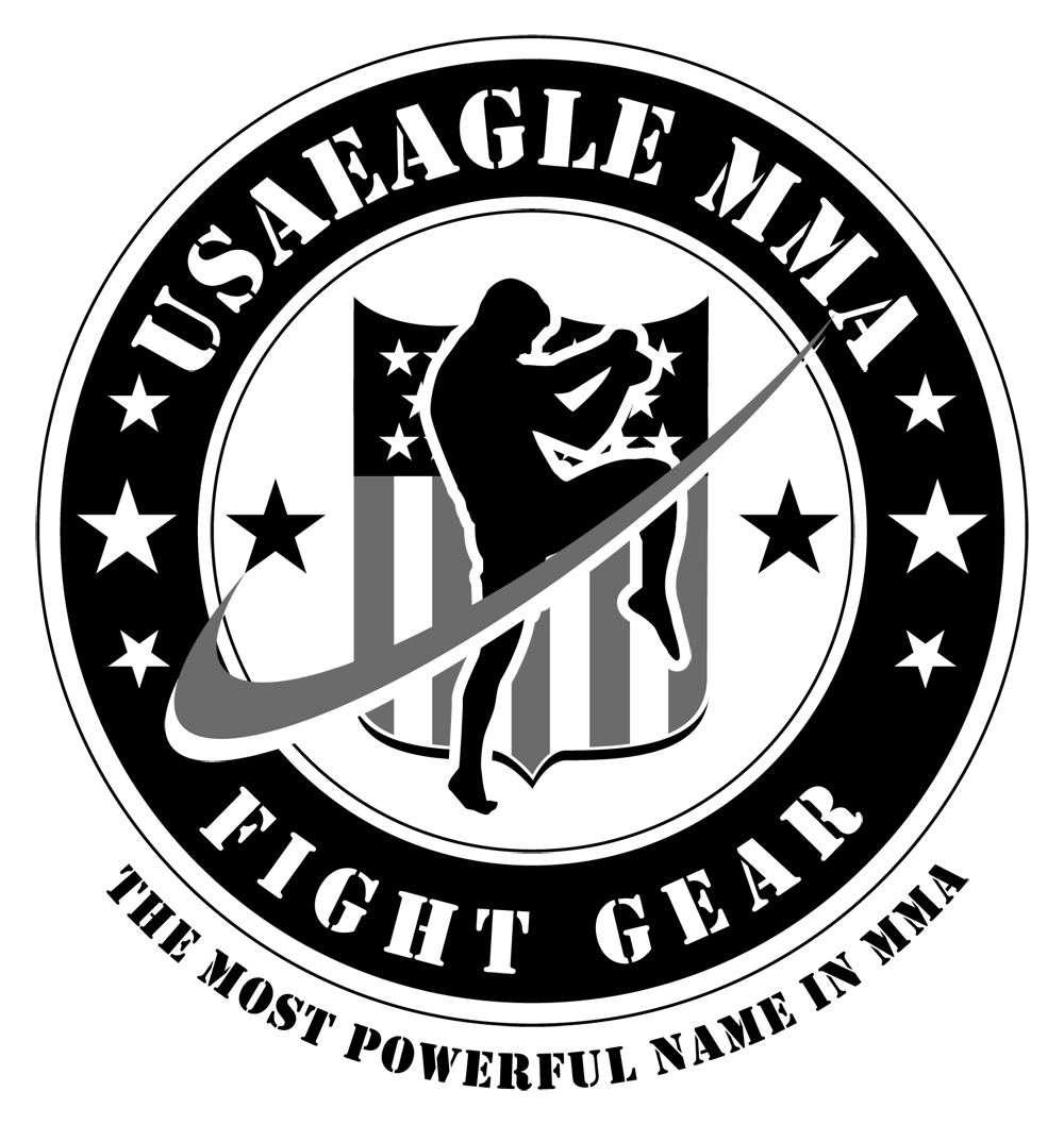 Mma vector design shirt. Usa eagle retail logo