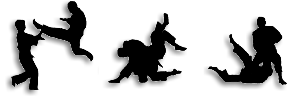 Mma vector silhouette. Self defense at getdrawings