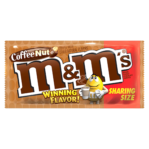 M&ms logo png. M s coffee nut