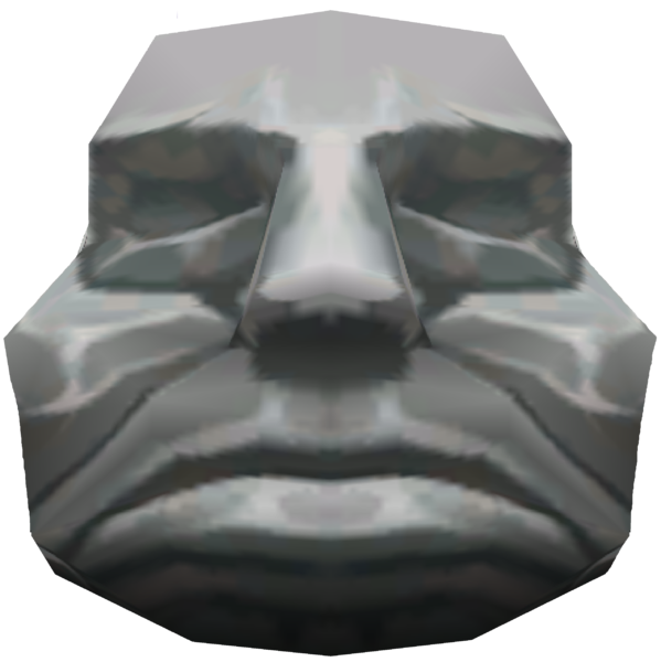 Moai drawing stone face. Head zeldapedia fandom powered
