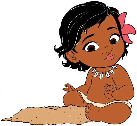 Moana baby png. Clip art disney galore