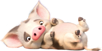 Pua drawing chicken. Moana characters tv tropes