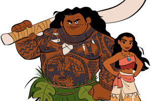 Moana clipart png. Image related wallpapers
