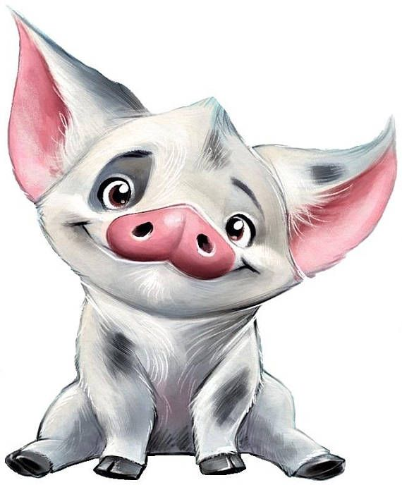 Moana clipart pua. The pig cross stitch