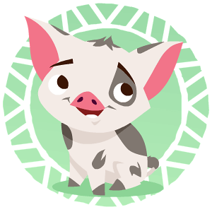 Moana clipart pua. Game and other mobile