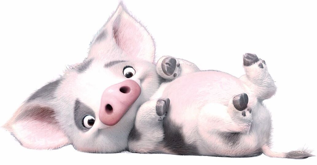 Moana clipart pua. Pet pigs minor character