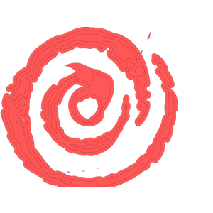Moana clipart spiral. Fire coral cliparts of