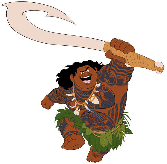 Drawing moana character disney. Clip art galore with