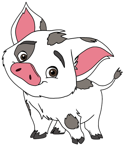 Moana pig png. Pua pinterest and birthday