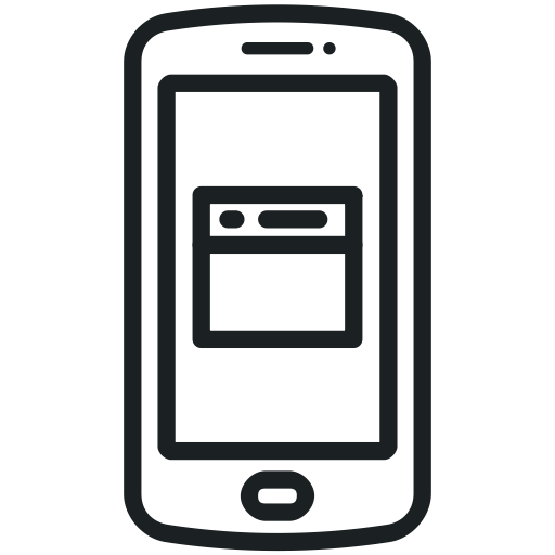 Mobile app icons png. Flat icon ico