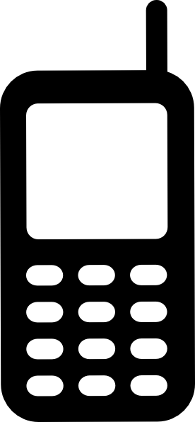 Mobile clipart. Phone clip art at