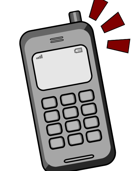 Mobile clipart cell phone. The reality of a