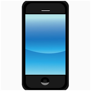Cellphone clipart blue. Cell phones fresh image