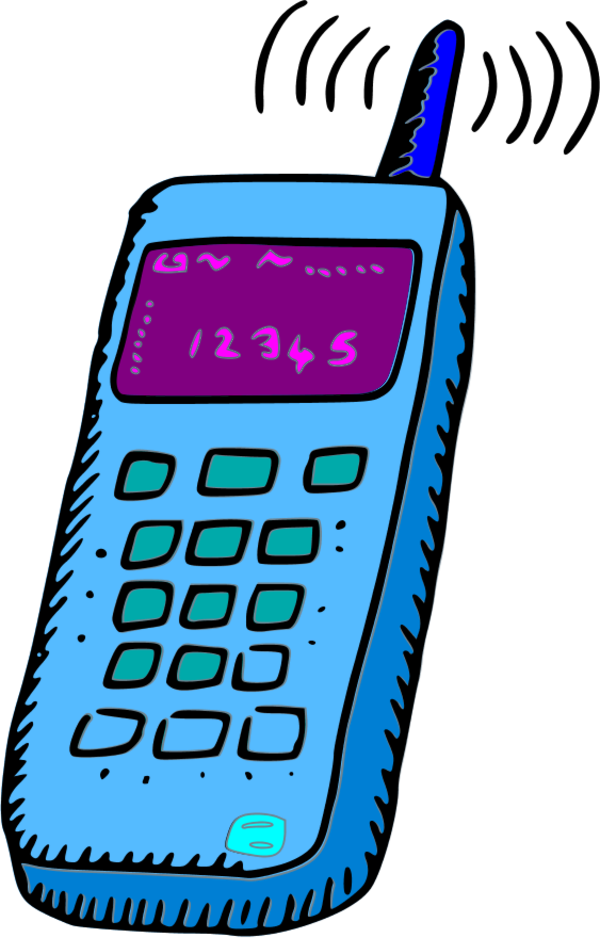 Phone clipart. Free mobile cliparts download