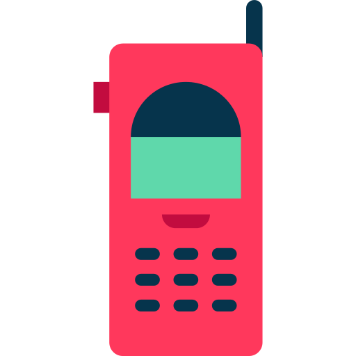 Mobile clipart phone receiver. Png icon repo free