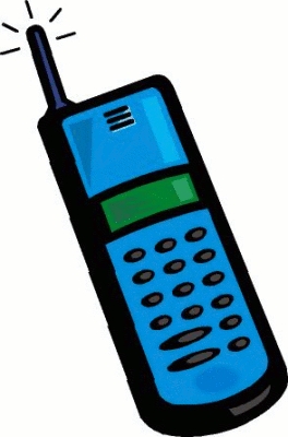 mobile clipart phone receiver