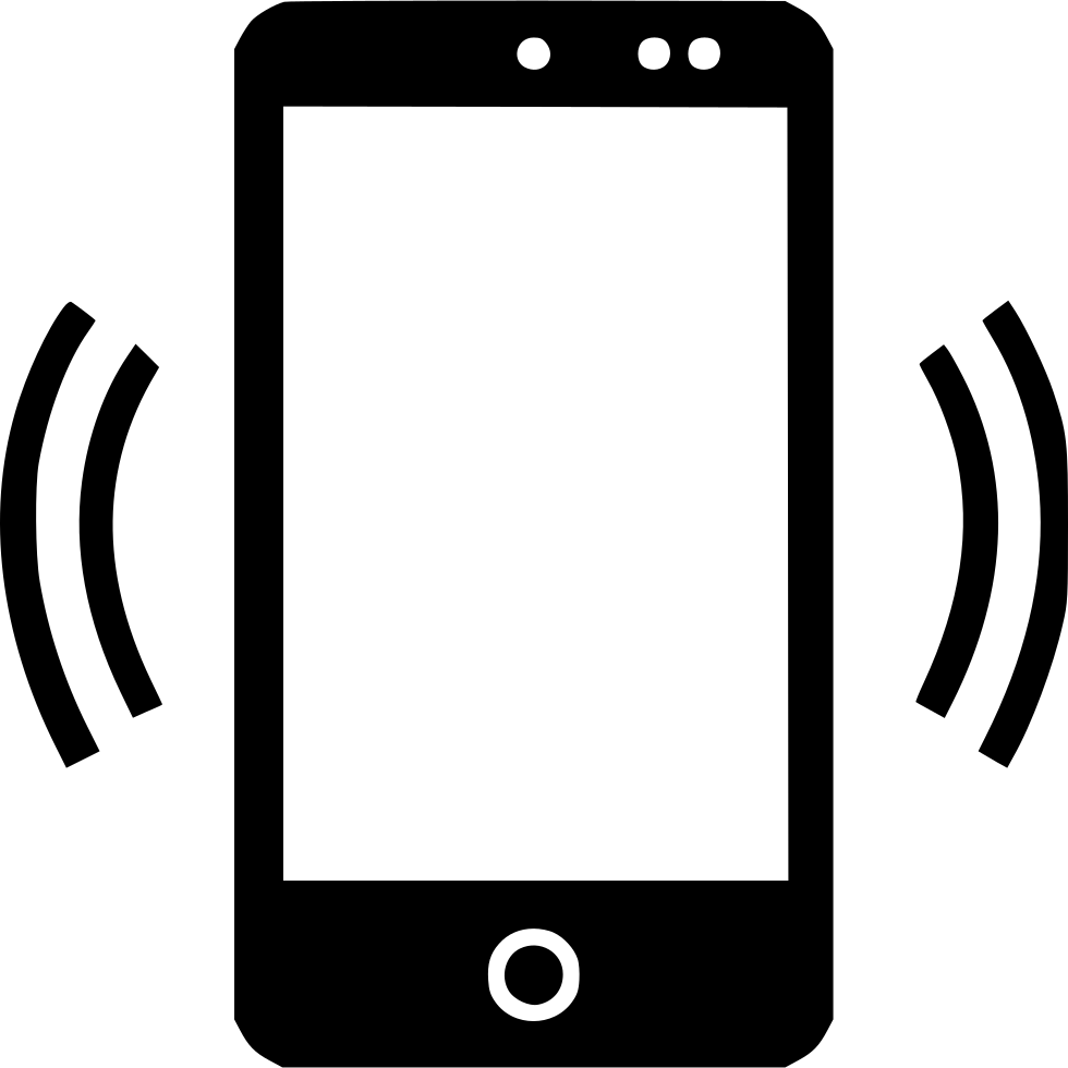 Mobile phone icon png. Cell signal svg free