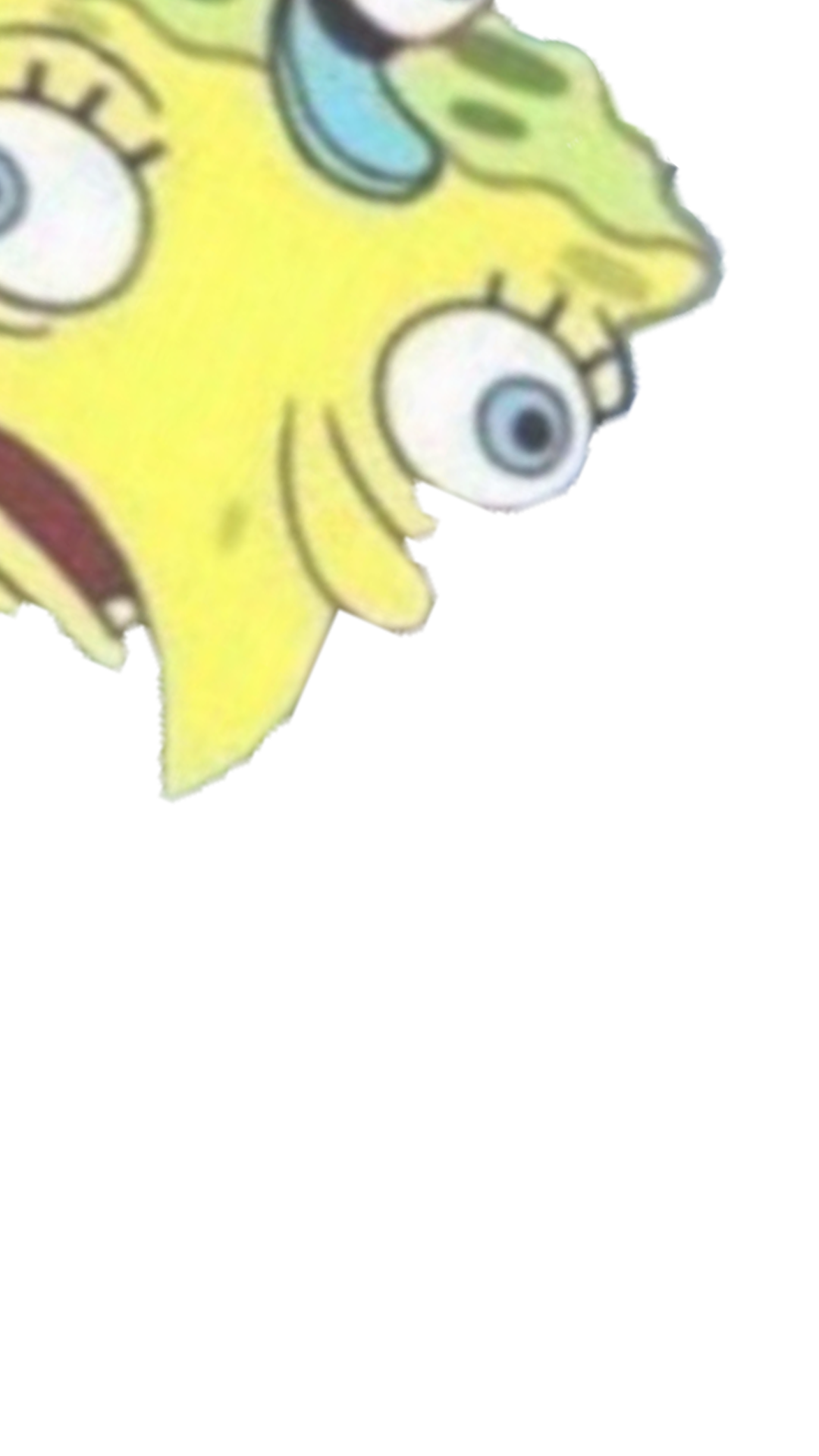 Mocking spongebob png. Filter snapprefs filterfilter