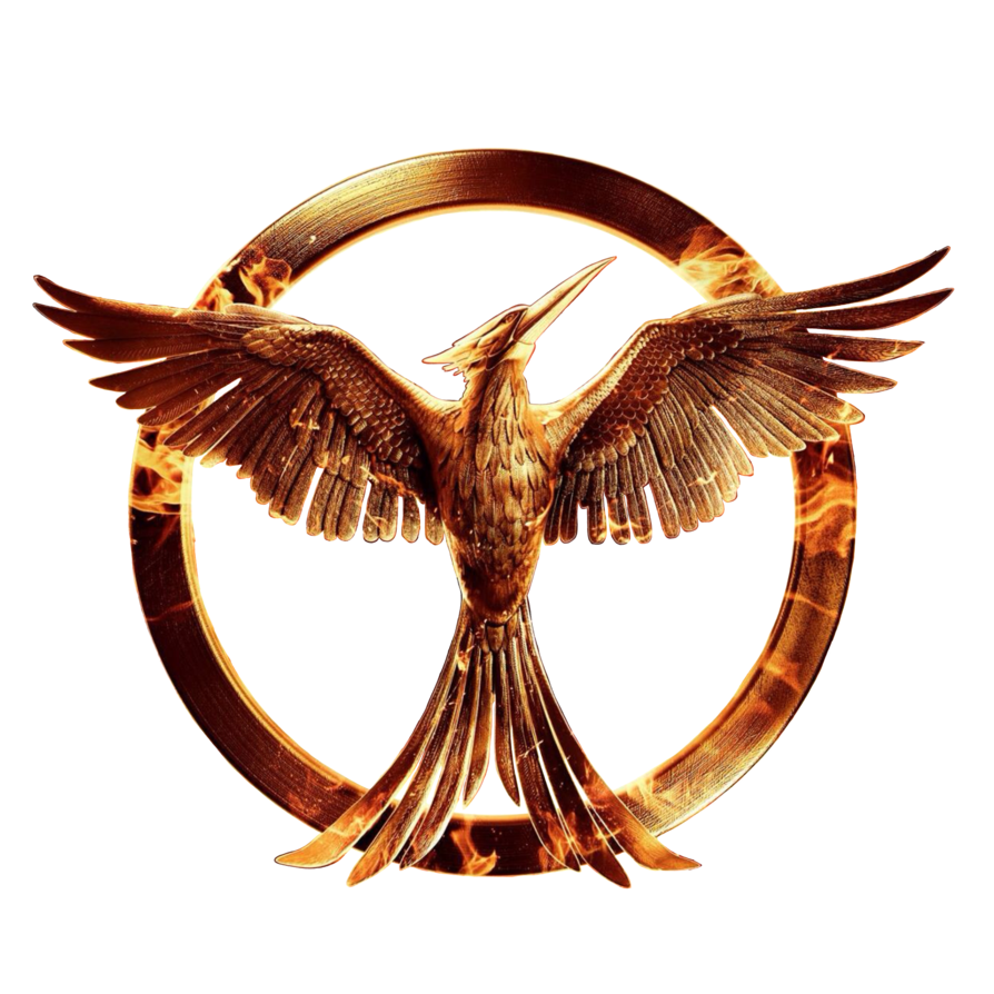 Mockingjay pin png. The hunger games part