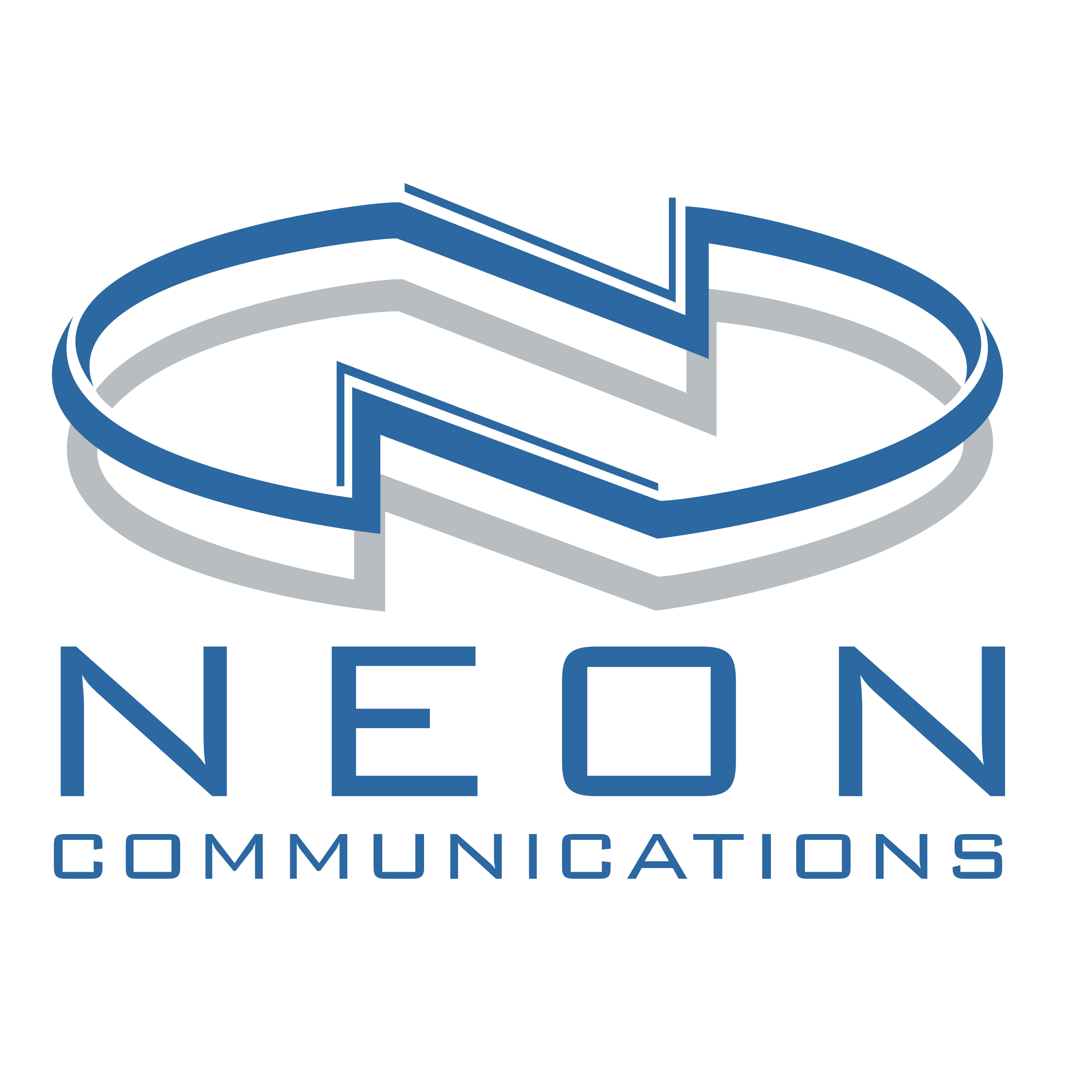Model vector neon. Communications logo png transparent