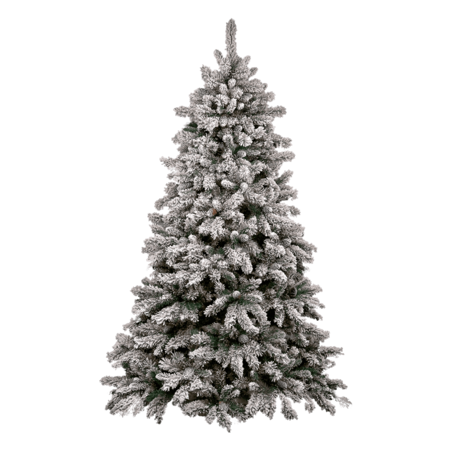 Modern christmas tree png. Transparent stickpng snow